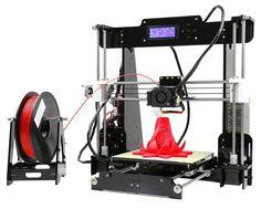 A8 Desktop 3D Printer Prusa i3 DIY Kit           Uso de esta review    Se permite utilizar esta review, ya sea copiando entero el artículo ...