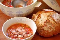 PIPIRRANA DE JAEN-22 Tapas, Tomato Salad, French Toast, Spanish, Yummy Food, Nerja, Cooking, Breakfast, Drink