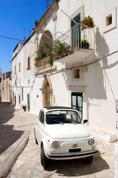 Puglia, Italy (via FIAT 500)