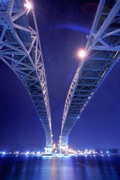 Blue Water Bridge - Port Huron, Michigan