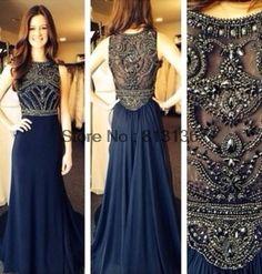 2014 nova moda Marie Lise vestidos longo Beading Chiffon vestido de festa noite elegante Prom vestidos 223