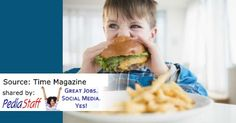 Fast Food Could Make Children Perform Worse in School - pinned by @PediaStaff – Please Visit ht.ly/63sNtfor all our pediatric therapy pins
