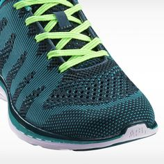 APL Women's Running Shoes Techloom Pro Deep Teal/Turquoise/Green