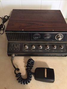 Vintage ham radio am stations the