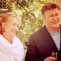 Meryl Streep & Alec Baldwin - love this movie