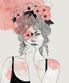 happiness looks gorgeous on you. #NoteToSelf  artwork by Helke Rah