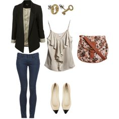 Spring outfit... So cute!