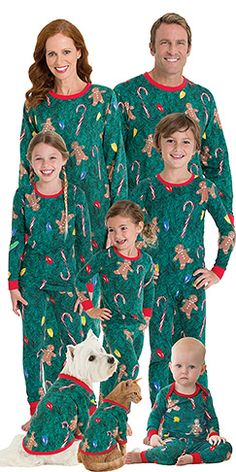 08185046d8 Christmas Tree Matching Family Pajamas Christmas Pjs