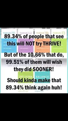 Thrive Le-Vel Energy, Weight Management, Aches and discomfort relief, Mental Clarity, Joint & inflammation support, tension headaches, Focus, Digestion, Healthy Lifestyle Join Today Free to Sign up No obligation to Purchase No minimum order Auto ship available Hassle Free Check out Www.sherrihebert.le-vel.com Join my Team today, or start building your own! Go Thrive