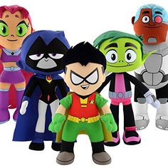 "Teen Titans Go! Full Bundle 10"" Plush Figure Bleacher Cre... https://www.amazon.com/dp/B01MUEG6D8/ref=cm_sw_r_pi_dp_x_jeiNyb4GM6FQQ"