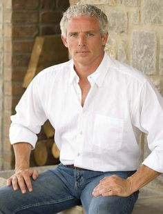 Don't know his name, but a beautiful silver fox