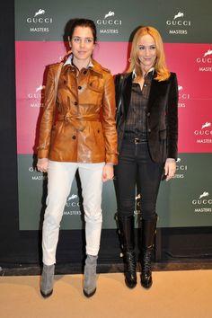 Frida Giannini and Charlotte Casiraghi