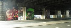 Central Station Bridge Street Art Glasgow