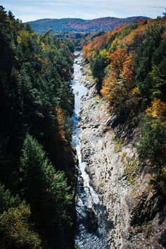 Queechee gorge | Vermont #Vermont #visitVermont.  It has been added to my list!