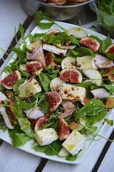 Healthy Salad Recipes, Fruit Recipes, Diet Recipes, Cooking Recipes, Skinny Broccoli Salad, Clean Eating, Healthy Eating, Vegan Dinners, Superfood