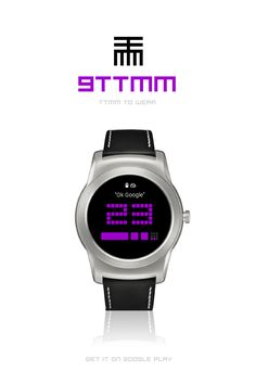 9TTMM to Wear. Watchface for #AndroidWear