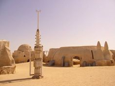 Did you know the Star Wars Tatooine sets still stand and can be visited in Tunisia?