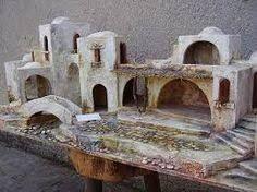 Resultado de imagen para case presepe palestinese Clay Houses, Ceramic Houses, Miniature Houses, Christmas Crib Ideas, Christmas Nativity, Christmas Decorations, Fontanini Nativity, Wargaming Terrain, Toy Soldiers