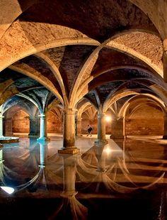 The Portuguese Cistern in El Jadida, Morocco (by Tomasz Dziubinski).