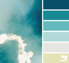 sky tones color combos