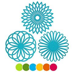awesome Silicone Trivet Flower