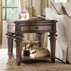 Rhapsody End Table | Hooker Furniture | Star Furniture | Houston, TX  Furniture | San