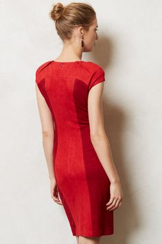 Rouged Pencil Dress - anthropologie.com