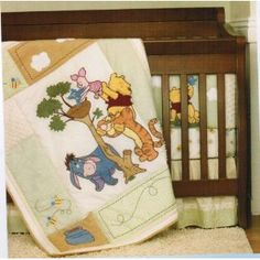 Disney Baby Winnie The Pooh 4 Pc Crib Bedding Set - Pooh's Friends Indeed Winnie The Pooh Themes, Winnie The Pooh Nursery, Winne The Pooh, Miracle Baby, Baby Crib Bedding, Crib Sets, Pretty And Cute, Baby Disney, Baby Fever