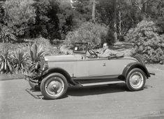 """San Francisco, 1927. """"Oldsmobile roadster at Golden Gate Park."""" http://www.shorpy.com/node/21278 #oldpics #oldphotos"""