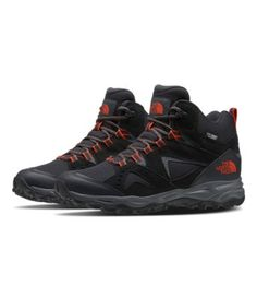 Men's Ultra Fastpack IV Mid FUTURELIGHT™ Shoes   The North Face Best Trail Running Shoes, Trail Shoes, Hiking Shoes, All Black Sneakers, High Top Sneakers, Sneakers Nike, Yellow Boots, Men's Shoes, The North Face