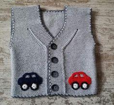 Baby Vest Decoration Techniques – Knit Vest Decorations for Babies – TC Arzu Parlak – Join the world of pin Crochet Baby Dress Pattern, Baby Dress Patterns, Baby Knitting Patterns, Knit Crochet, Knitting For Kids, Crochet For Kids, Free Knitting, Baby Boy Vest, Baby Cardigan