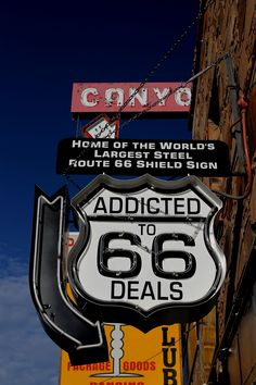 Route 66, Williams AZ, by Ron Redfern