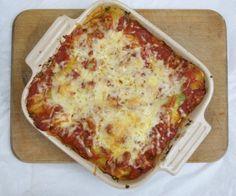 Spinach & Ricotta canneloni (NL recipe)