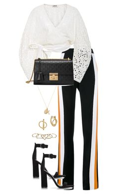 """""""Untitled #5049"""" by theeuropeancloset on Polyvore featuring STELLA McCARTNEY, AMUR, Gucci, ERTH, Lucky Brand, Kendall + Kylie and Zimmermann"""