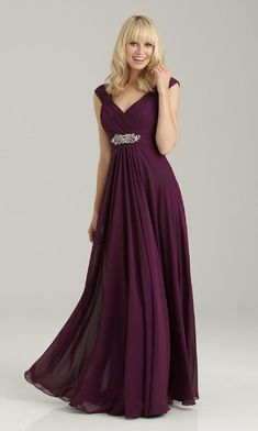 5b78d43ee090 20 Best Plum dresses images | Plum dresses, Elegant dresses, Party Dress
