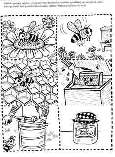 Fruit Crafts, Bee Crafts, Spring Activities, Activities For Kids, Kindergarten, Help Teaching, Save The Bees, Interactive Notebooks, Bee Keeping
