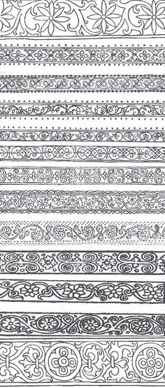 zentangle border designs - Google Search