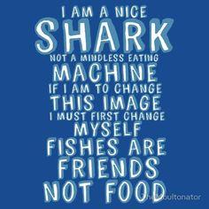 "Shark oath from ""Finding Nemo"""