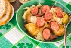 Slow Cooker Sausage, Potatoes, and Cabbage Recipe