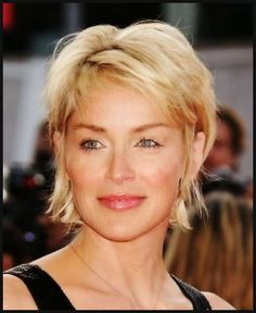 Simple and Creative Tips: Women Hairstyles Over 50 Posts shag hairstyles diy.Women Hairstyles Over 50 Gray two cornrows hairstyles.Women Hairstyles Over 50 Posts. Sharon Stone Hairstyles, Bob Hairstyles For Fine Hair, Hairstyles Over 50, Modern Hairstyles, Short Hairstyles For Women, Cool Hairstyles, Short Haircuts, Choppy Hairstyles, Sharon Stone Short Hair
