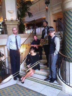 We perform regularly at the beautiful Casa Del Mar Hotel in Santa Monica, CA.