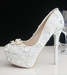 5c7a34879d7f 2016 Vintage Lace Wedding Shoes Cheap Best Red Bridal Wedding Shoes  Champagne Shoes Women High Heels Size US 4 9 Wedding Dress Flat Bridal Shoes  Ivory Gina ...