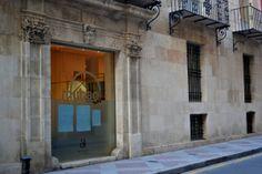 Palacio Gravina de Alicante, antigua residencia del Conde Lumiares, actual Museo de Bellas Artes (Alicante, España).  Gravina Palace, the former residence of Count Lumiares, Arts Museum at present (Alicante, Spain).