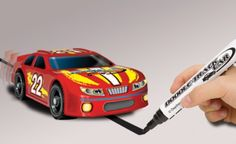 Doodle-Track Car . You draw a black line, and it has a sensor that will follow the line.