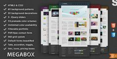 Shopping MegaBox - Multipurpose HTML5 TemplateThis site is will advise you where to buy