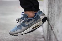 http://SneakersCartel.com Nike Air Max 1 'Dirty Denim' (by _alextran) | #sneakers #shoes #kicks #jordan #lebron #nba #nike #adidas #reebok #airjordan #sneakerhead #fashion #sneakerscartel