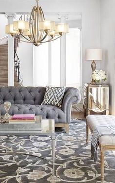 13 Beautiful French Country Living Room Decor Ideas