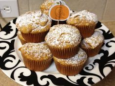 Easiest pumpkin muffins EVER. Don't know how they taste but look exactly like costcos!