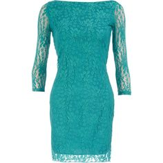 Summer lace tapered dress found on Polyvore