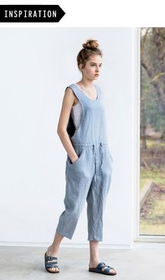 This week on the blog we have made a super cute play-suit in one of our new milled linens using the Roberts Collection Pattern by Marilla Walker. We chose the dungarees variation and shortened the length of the leg, great for the summer ahead here in...